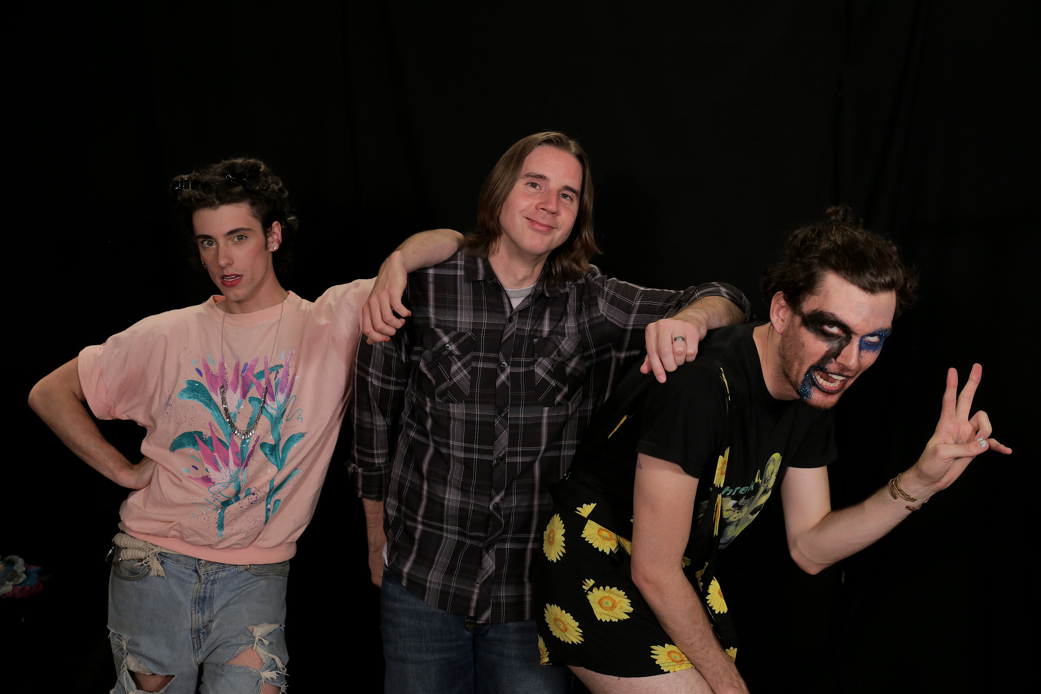 PWR BTTM with Russ Borris at WFUV
