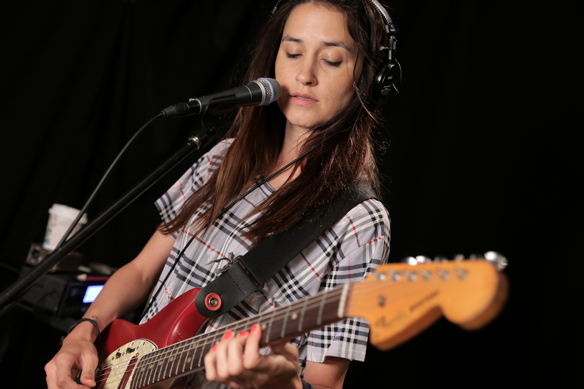Theresa Wayman of Warpaint at WFUV