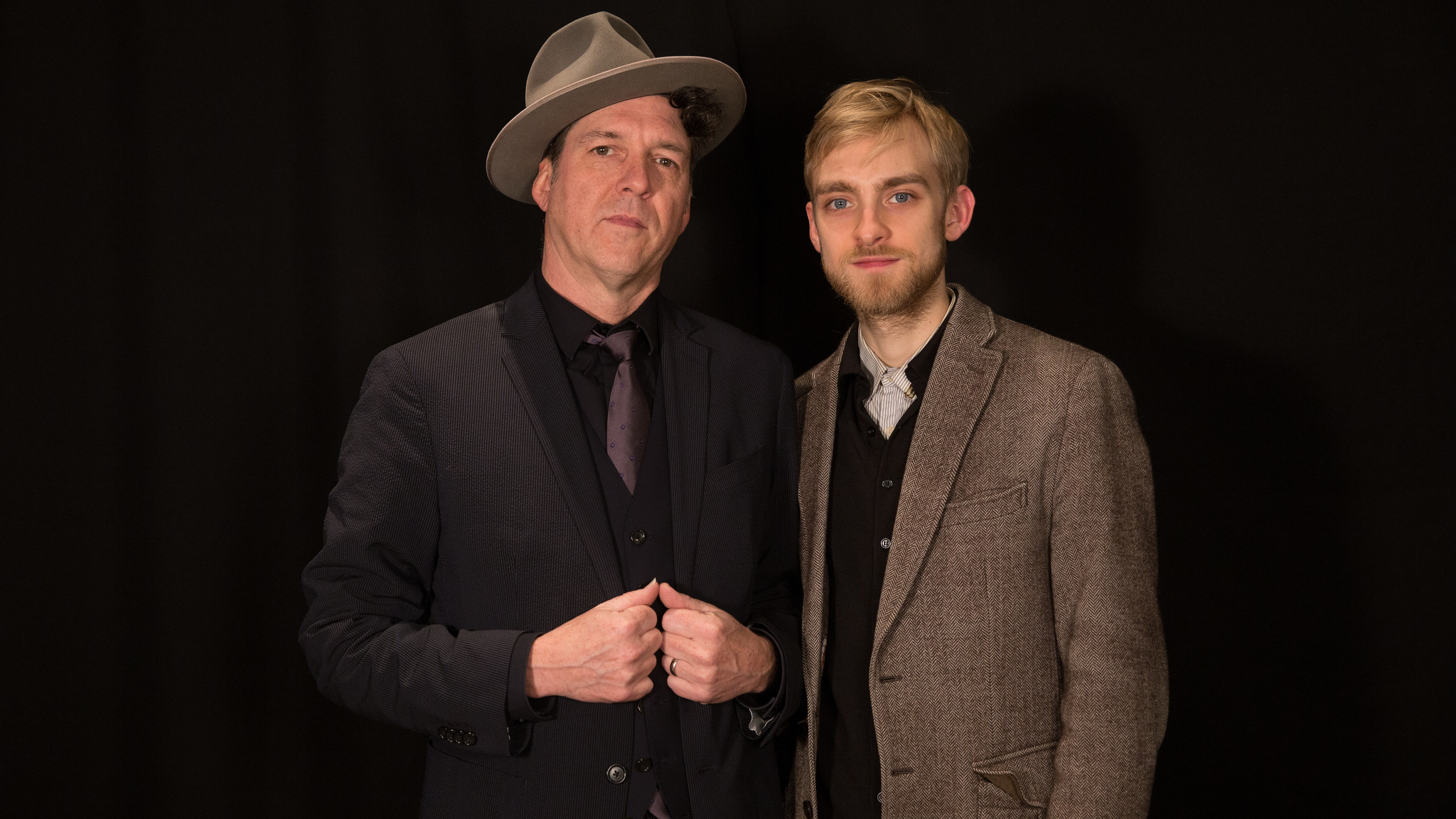 Joe and Levon Henry at WFUV