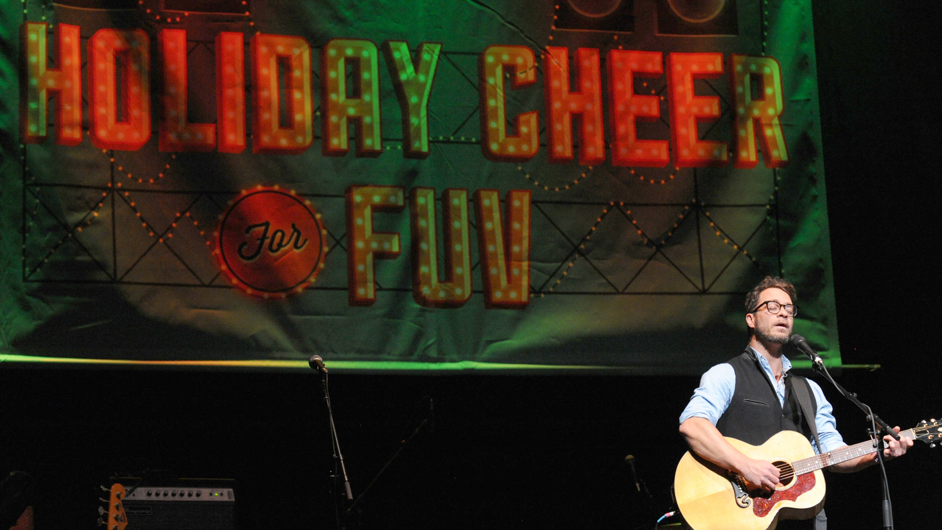 Amos Lee at Holiday Cheer for FUV