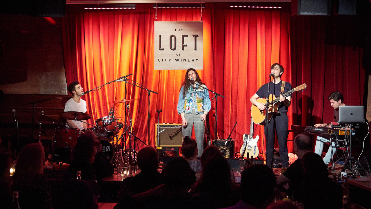 Bailen at The Loft at City Winery (photo by Gus Philippas/WFUV)