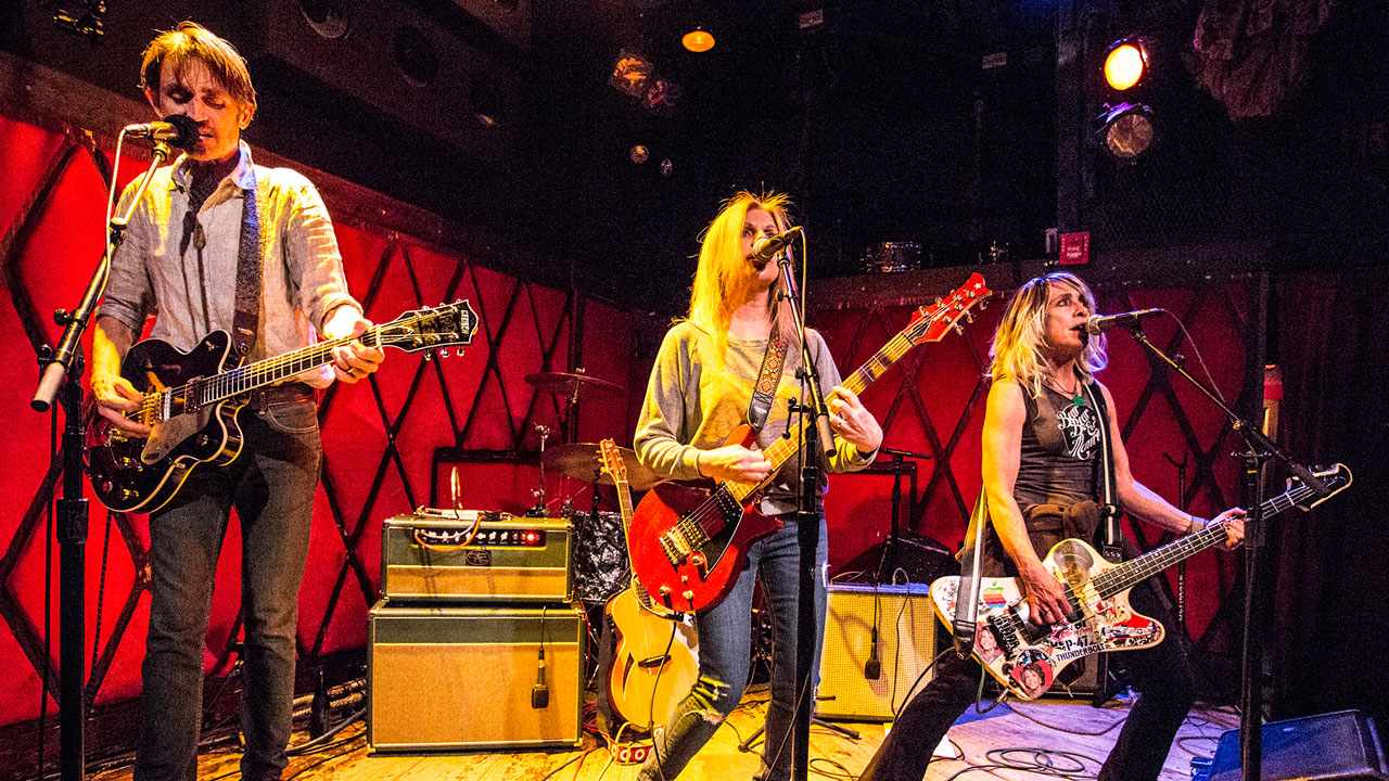 Belly at Rockwood Music Hall (photo by Gus Philippas/WFUV)