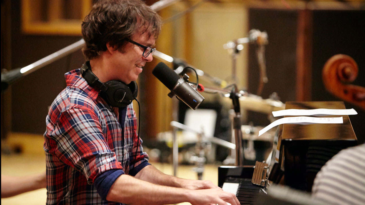 Ben Folds at Avatar Studios (photo by Gus Philippas/WFUV)