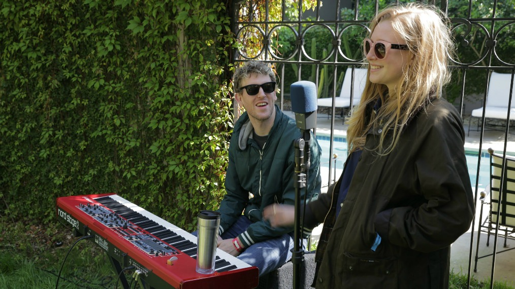 Ben Burrows and Billie Marten at Hotel Saint Cecilia/SXSW