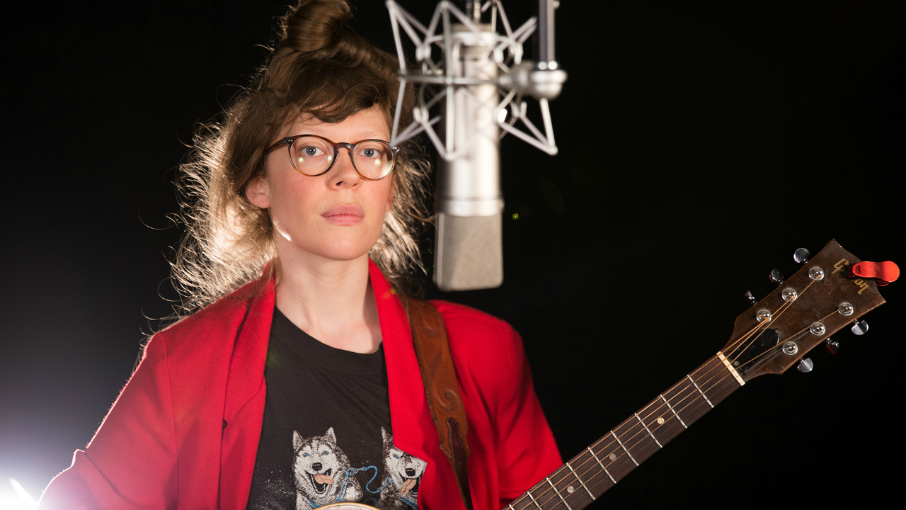 Daughter of Swords in Studio A (photo by Kay Kurkierewicz/WFUV)