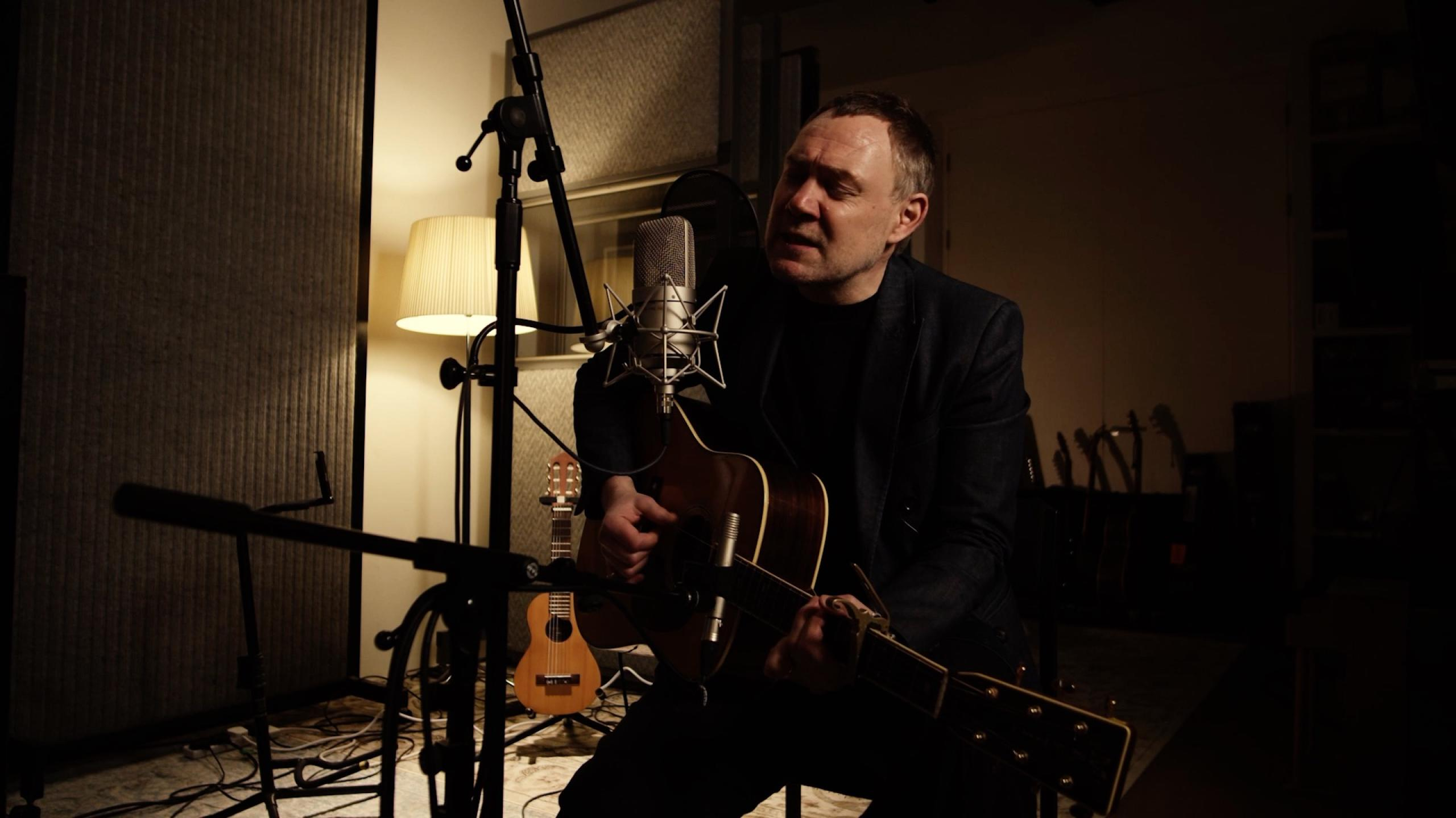 David Gray performing for FUV Live