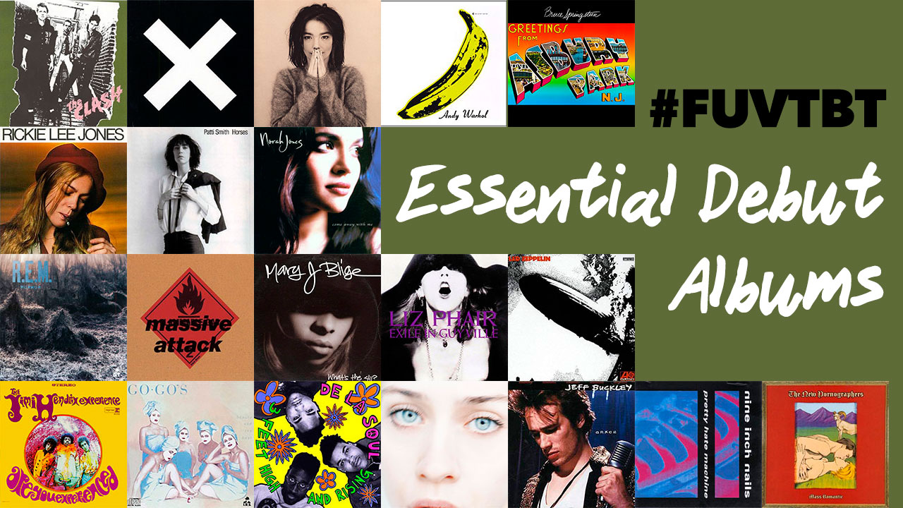 Essential debuts (collage of album covers by Laura Fedele, WFUV)