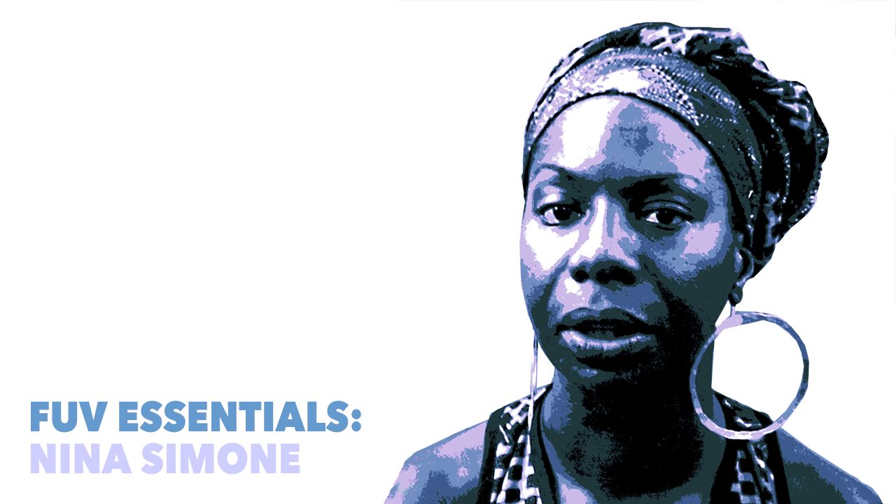 Nina Simone (1969 photo by Gerrit de Bruin, photo illustration by Laura Fedele)