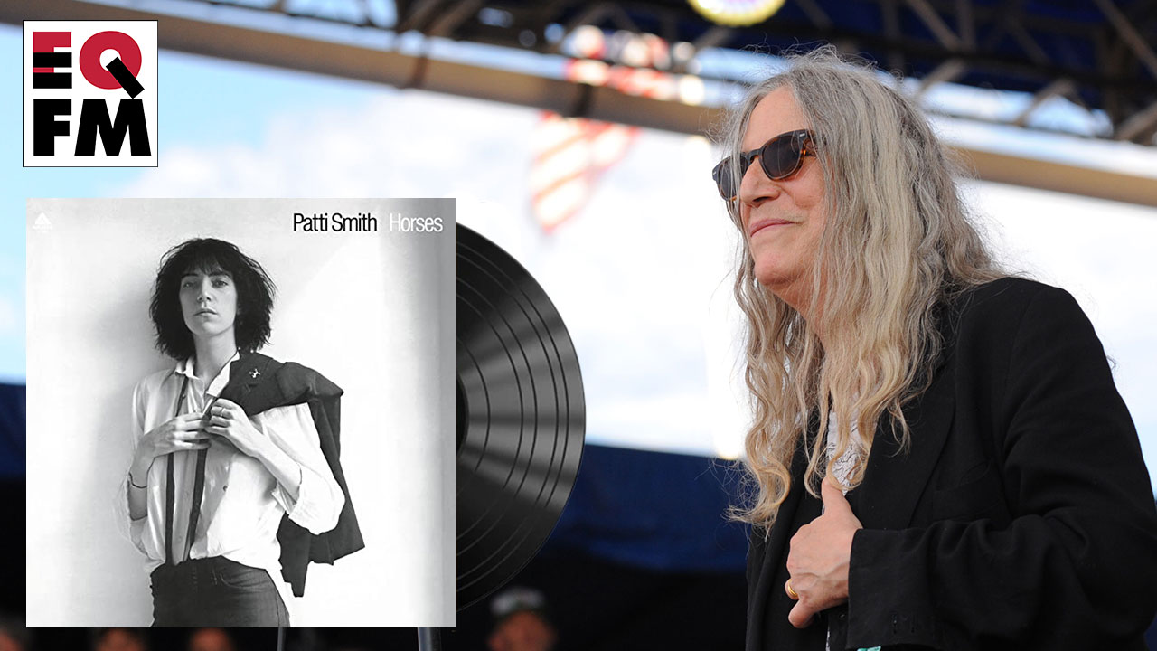 Patti Smith at the 2016 Newport Folk Festival (photo by Neil Swanson for WFUV)