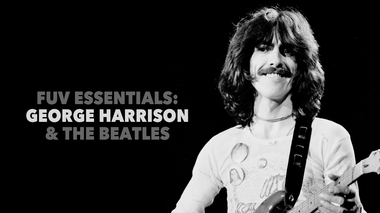 George Harrison (Original photo courtesy of AP Photo/Bob Grieser)