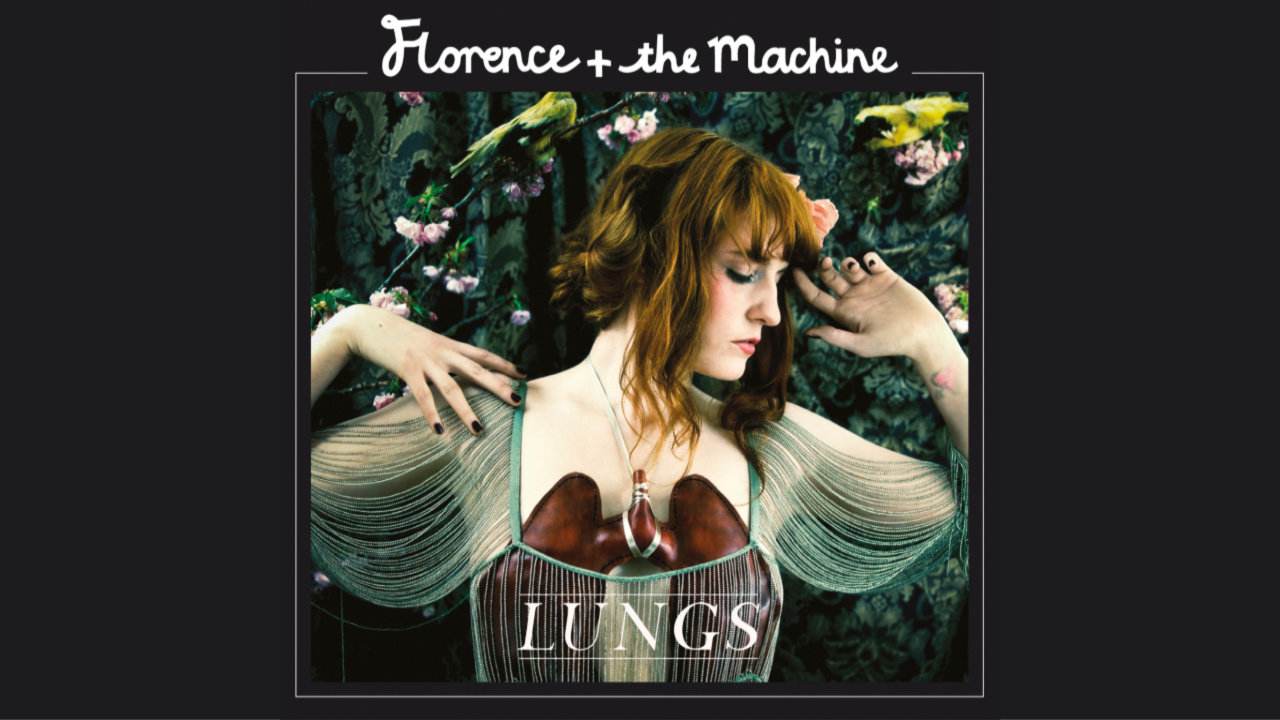 Florence and The Machine, 'Lungs' album cover (image courtesy of Island Records)
