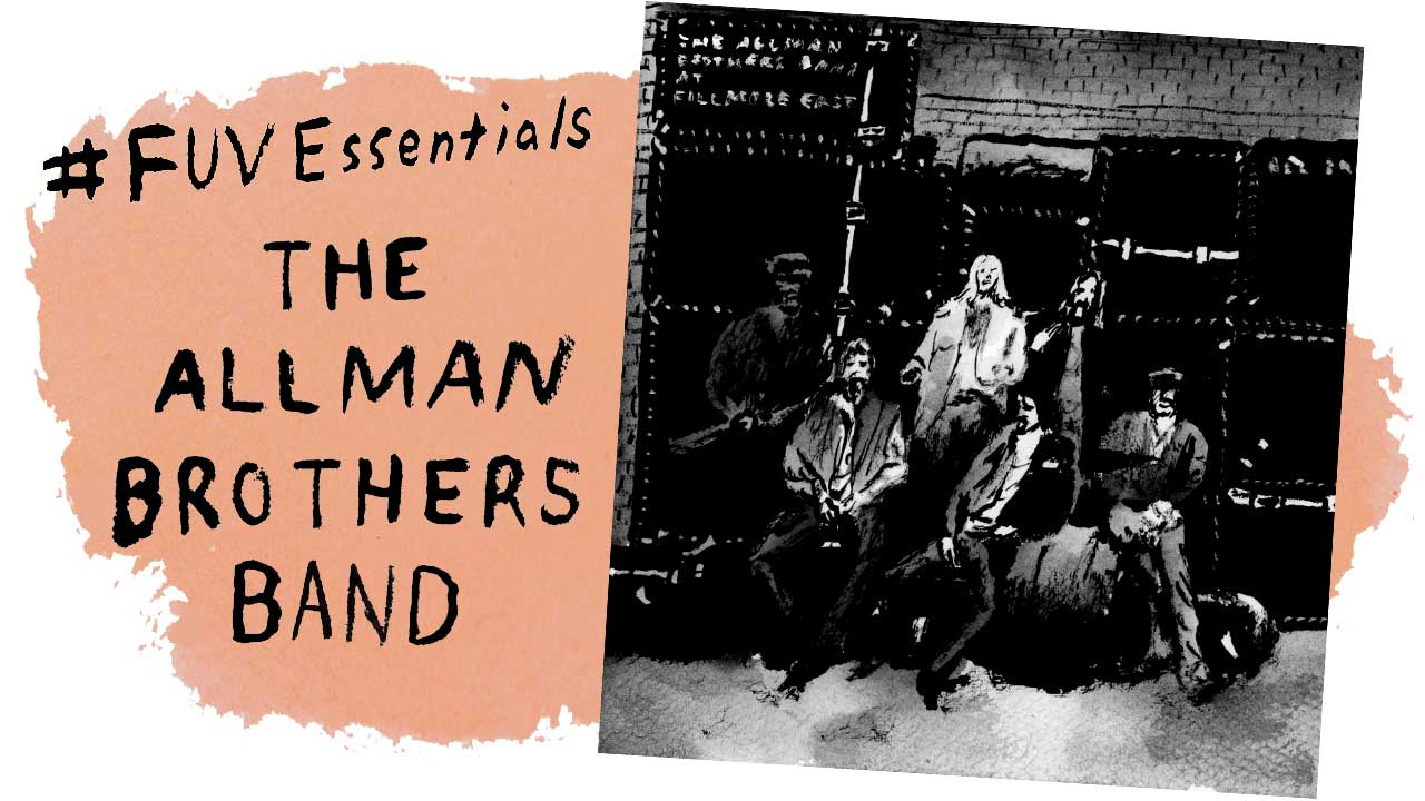The Allman Brothers (illustration by Andy Friedman)