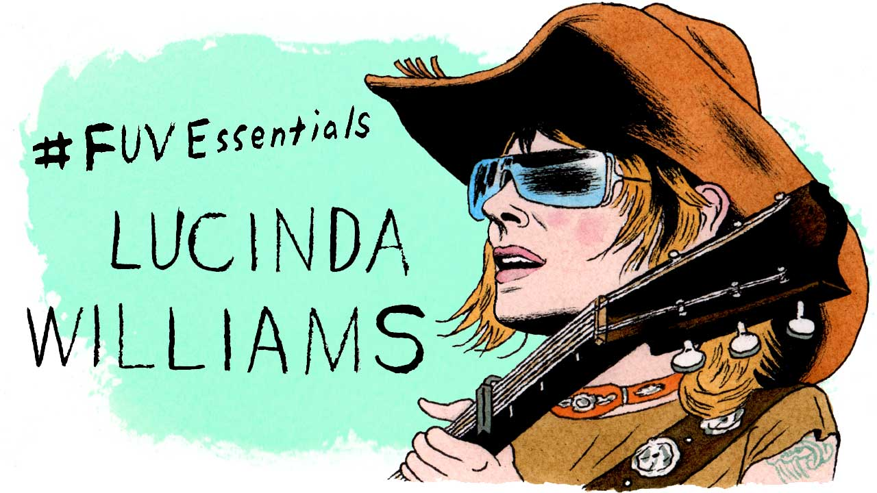 Lucinda Williams (illustration by Andy Friedman)