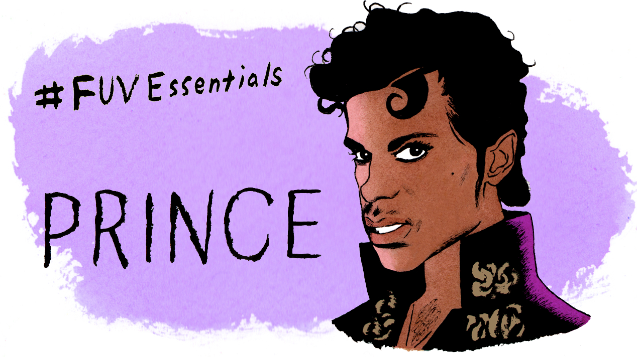 Prince (illustration by Andy Friedman)