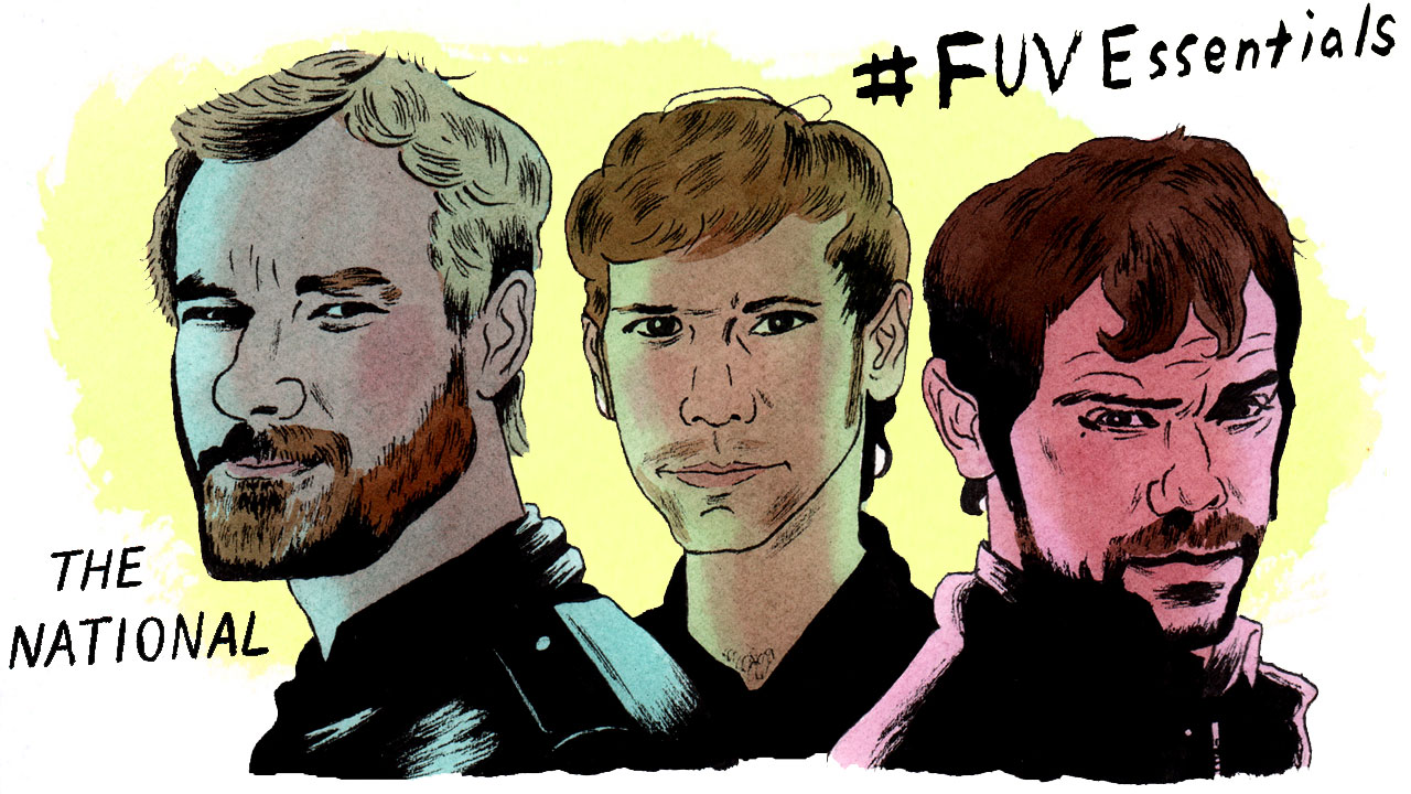 The National (illustration by Andy Friedman)