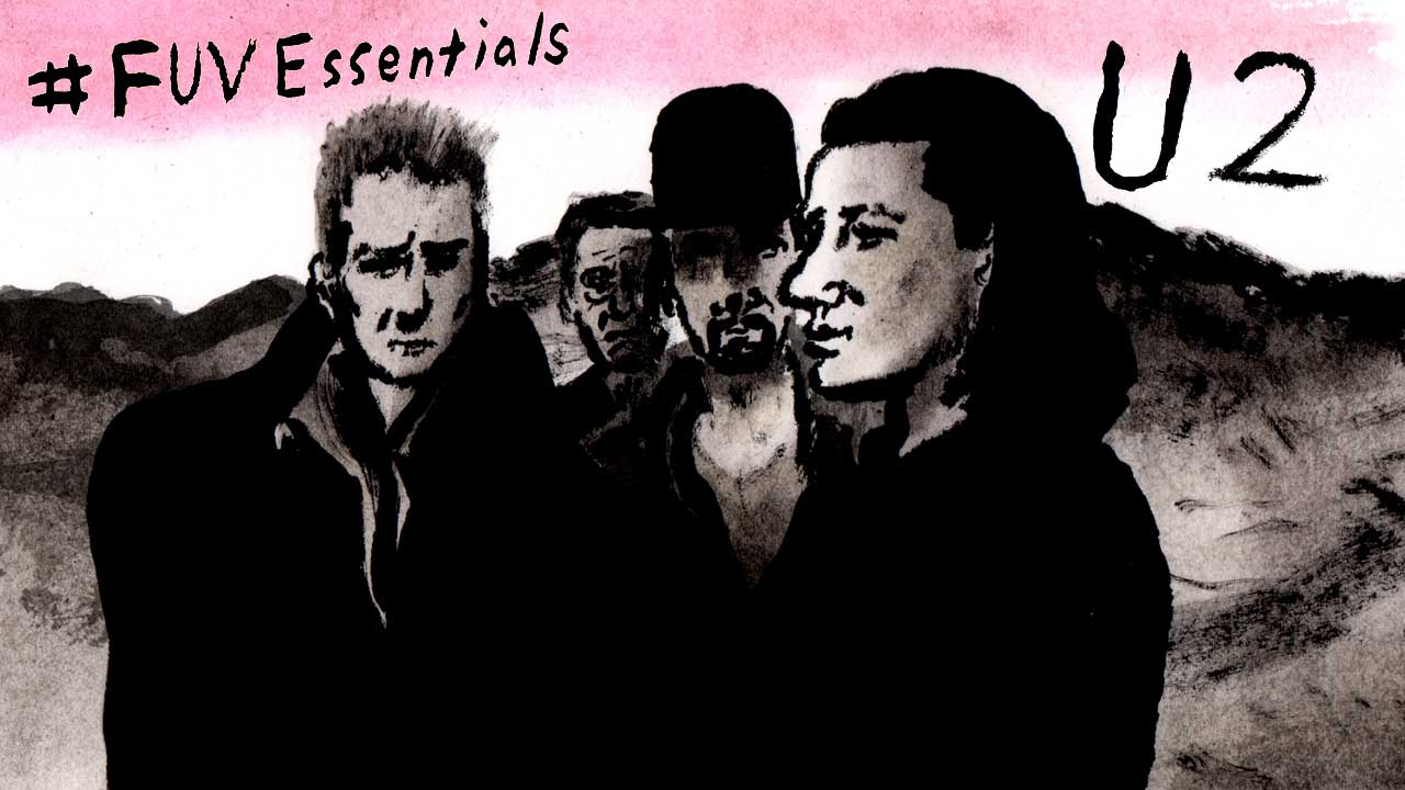 U2 (illustration by Andy Friedman)