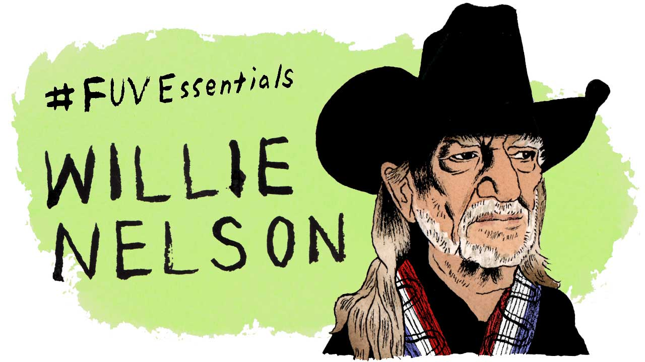 Willie Nelson (illustration by Andy Friedman)