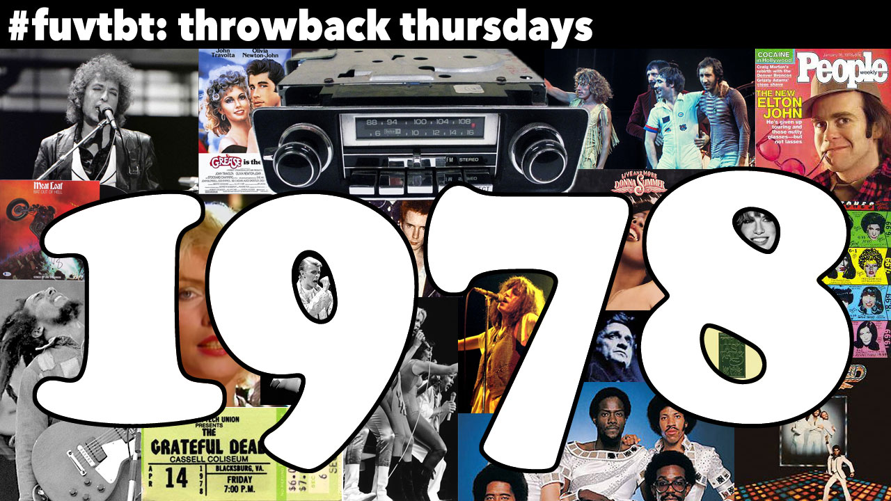 1978 (collage compiled by Laura Fedele, WFUV)