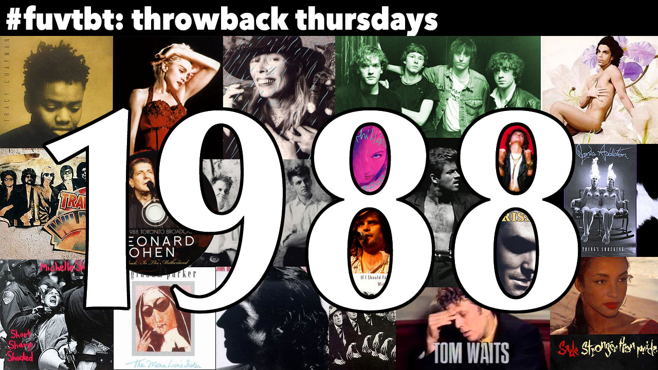 1988 (Collage compiled by Laura Fedele, WFUV)