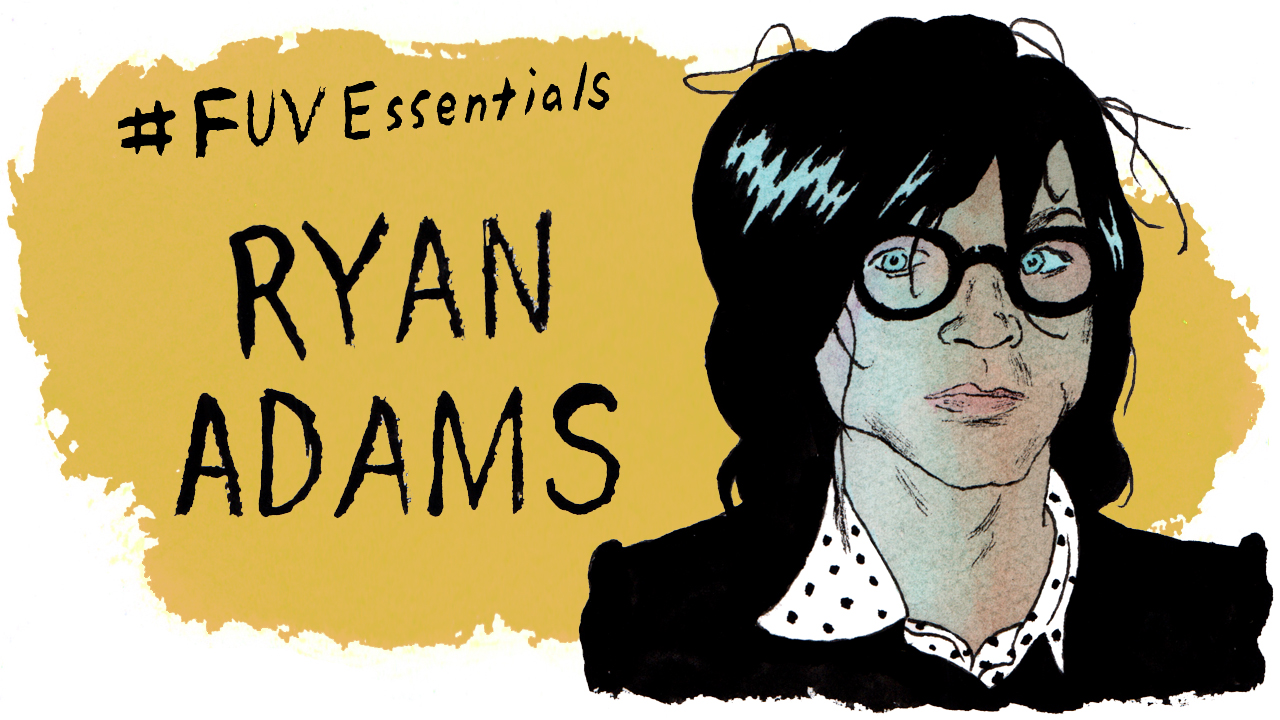 Ryan Adams (illustration by Andy Friedman)