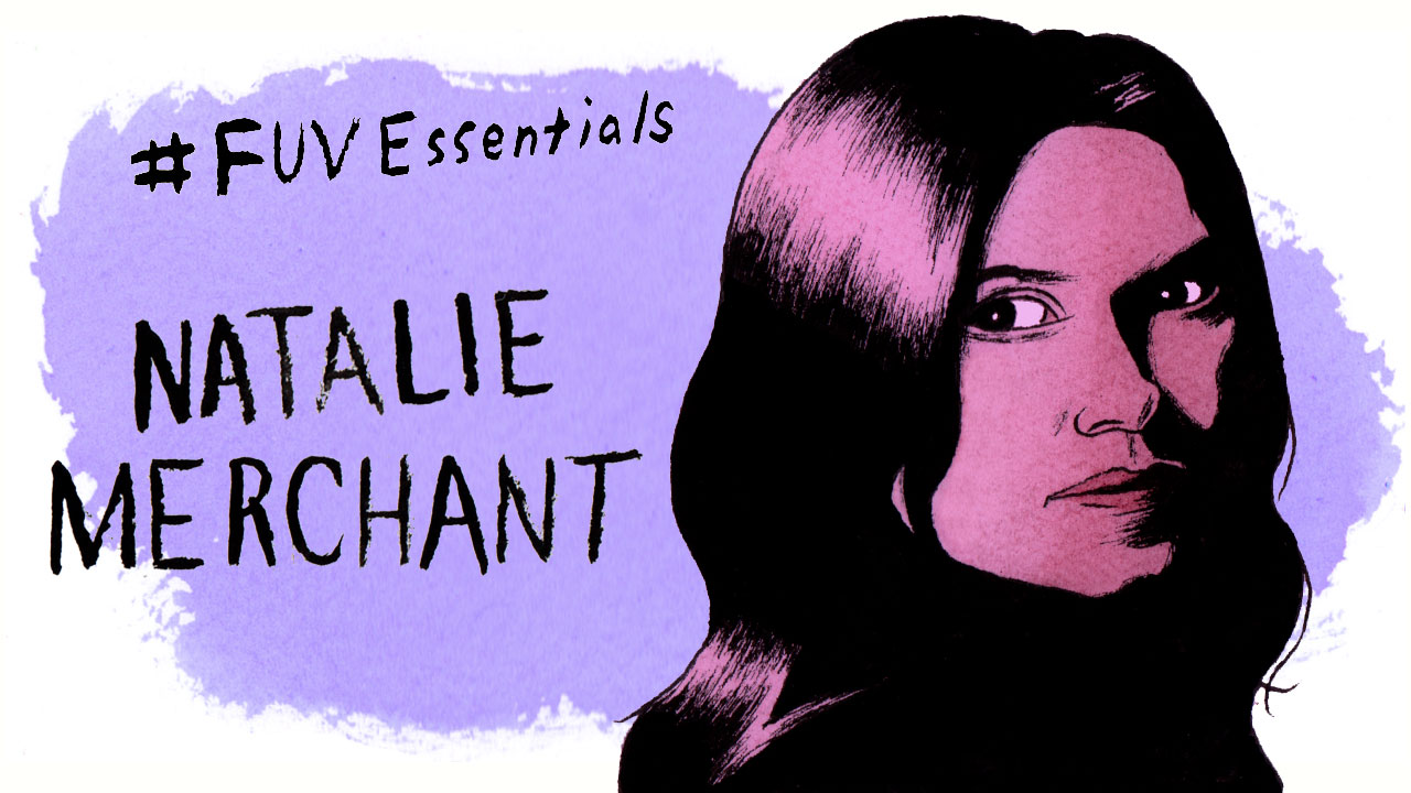 Natalie Merchant (illustration by Andy Friedman)