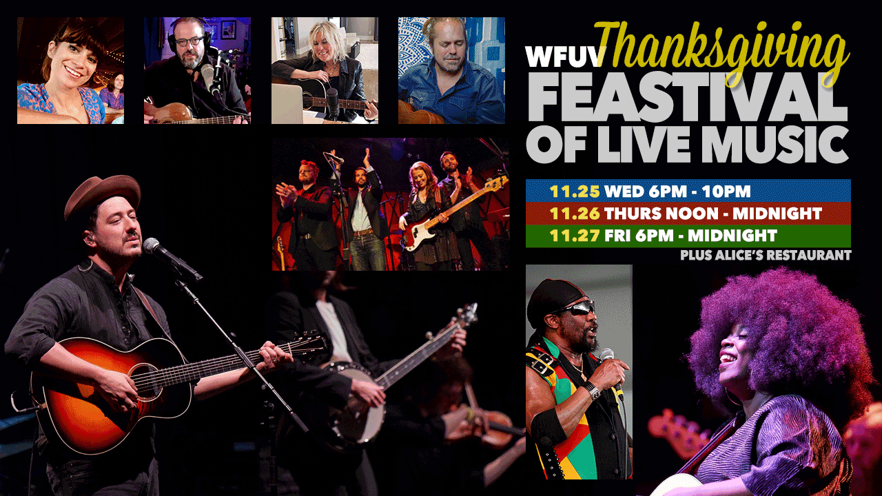 The WFUV Thankgiving Feastival of live music, 2020 edition.