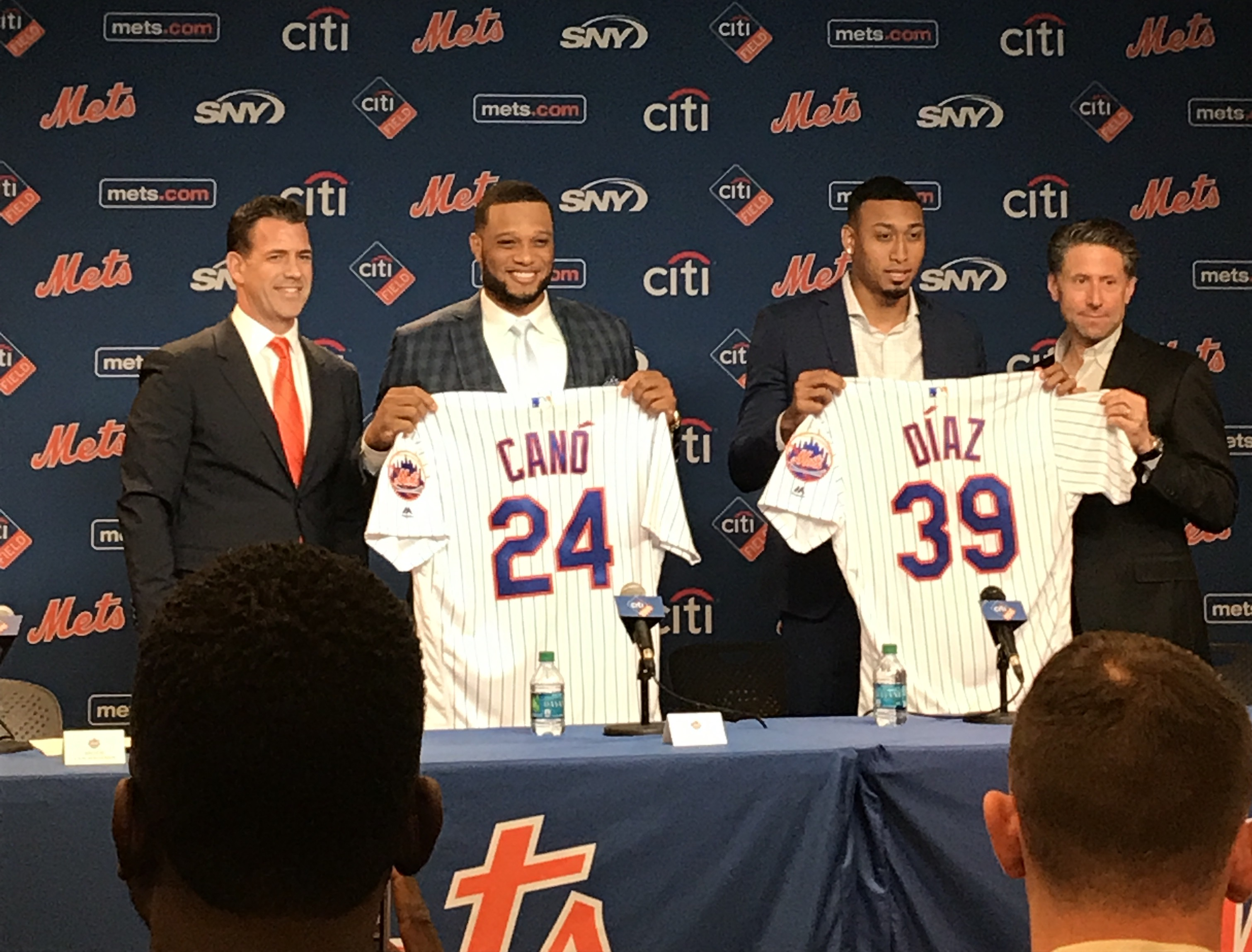 Meet the (new) Mets - Robinson Cano and Edwin Diaz | WFUV