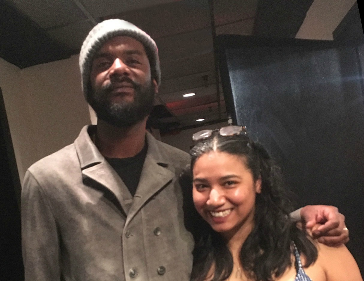 Gary Clark Jr. With Alisa Ali at Premier Studios NY
