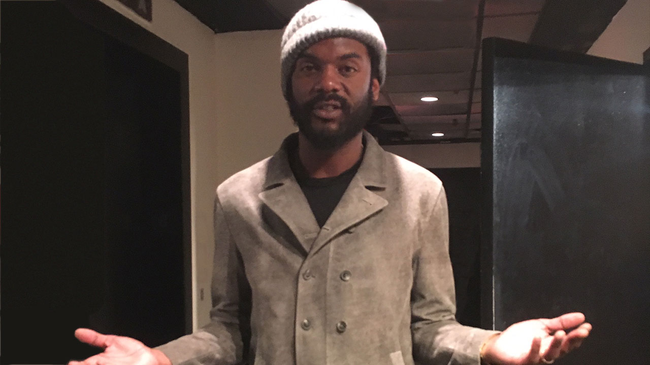 Gary Clark Jr. at Premier Studios NY