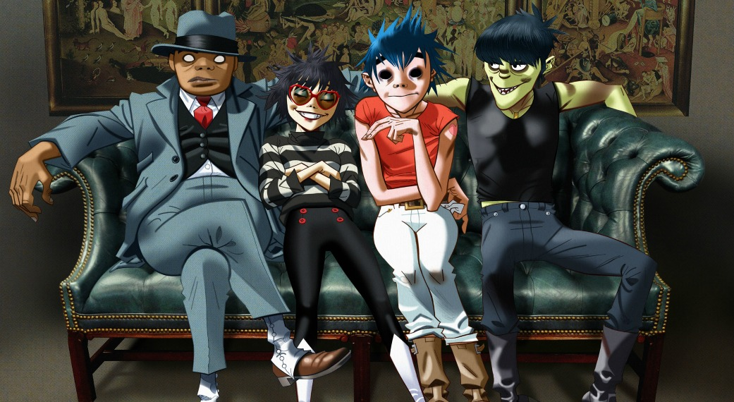Watch Gorillaz live at WFUV (illustration by J.C. Hewlett)