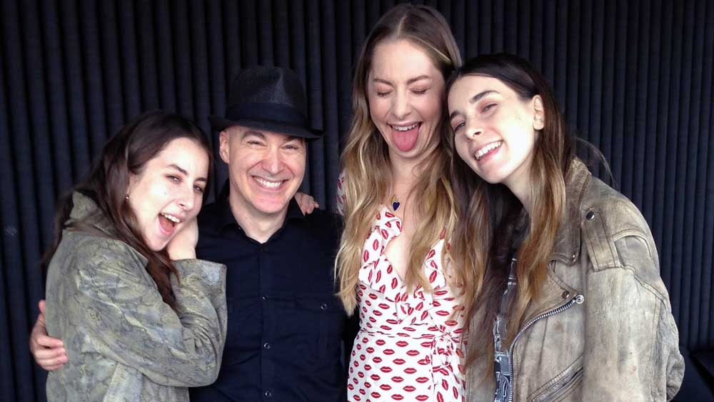 Haim with Eric Holland