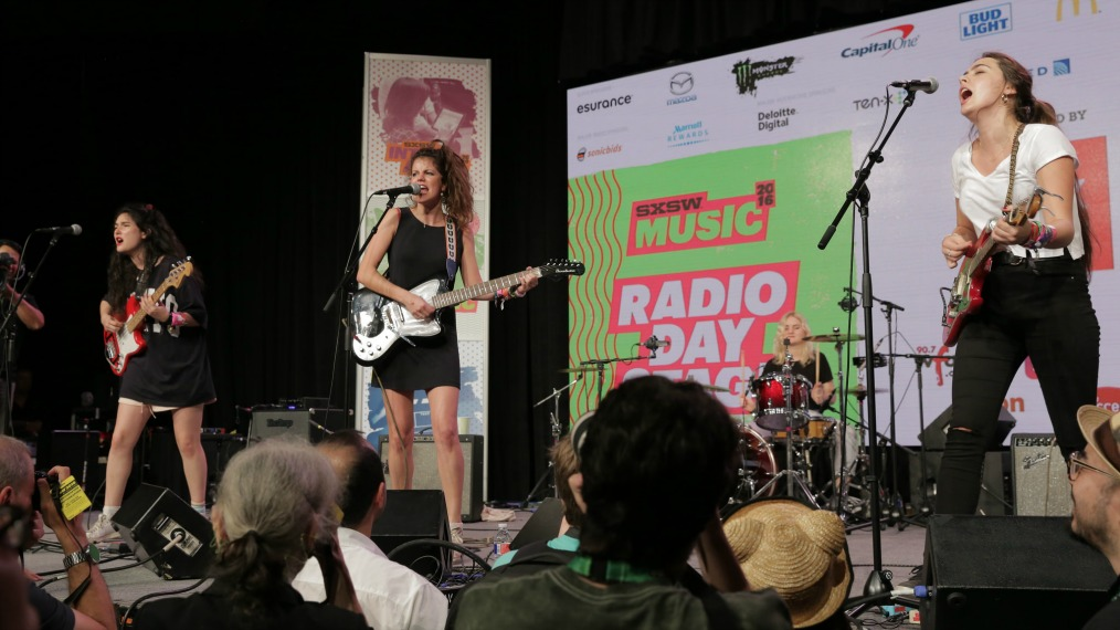 Hinds at SXSW Radio Day Stage