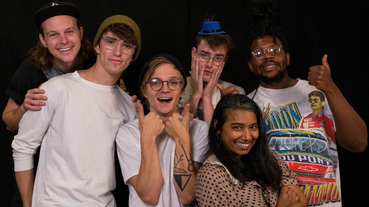 Hippo Campus at WFUV with Alisa Ali