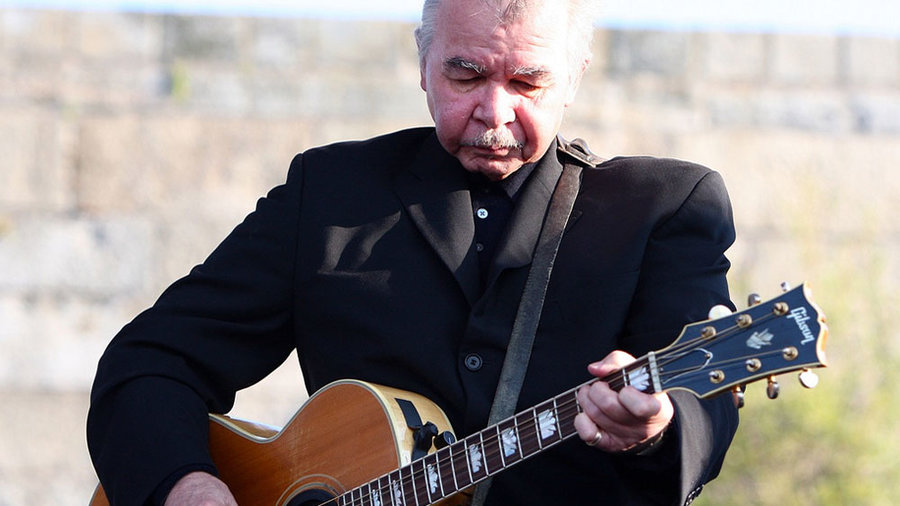 John Prine at the 2010 Newport Folk Festival (photo by Laura Fedele/WFUV)