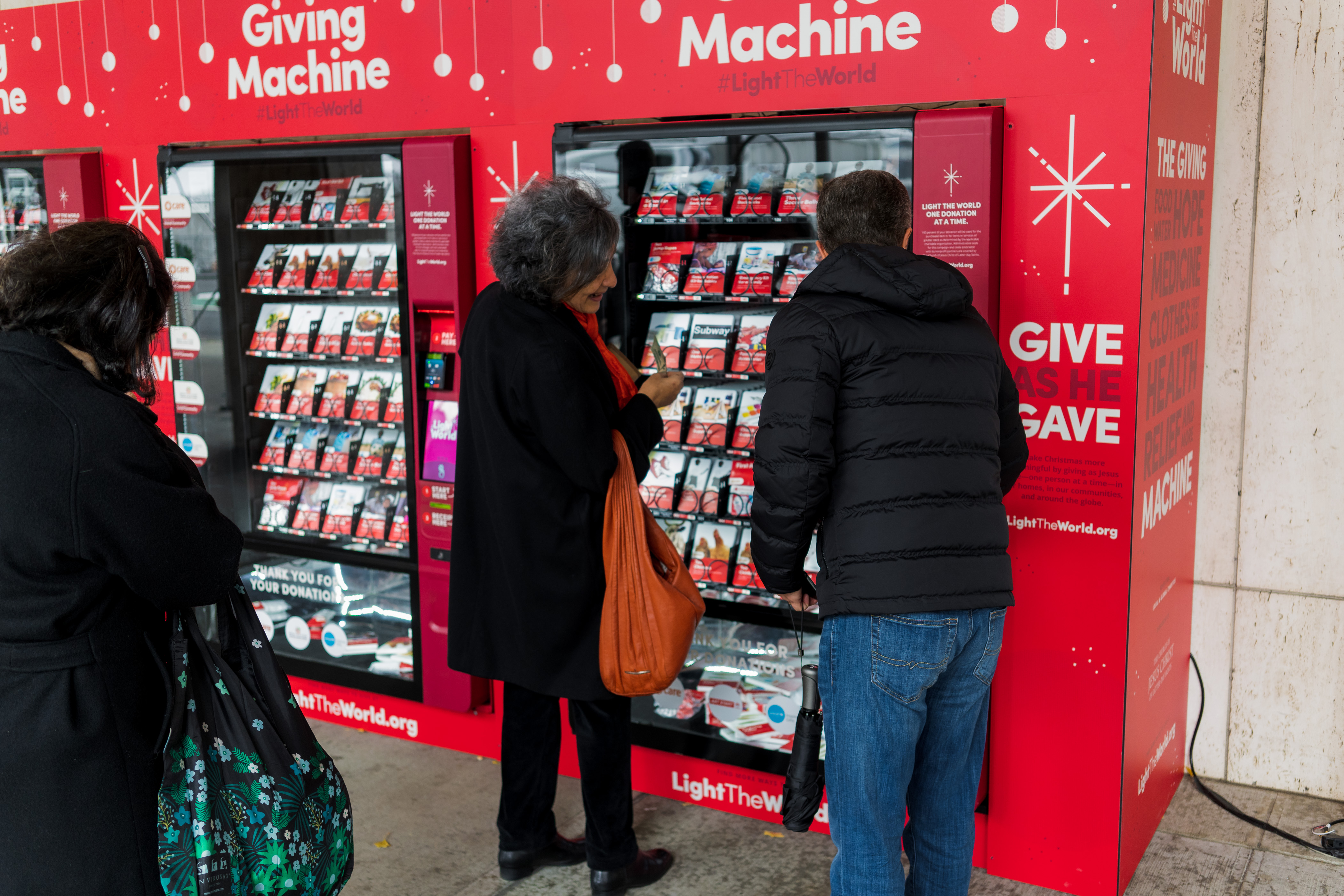 Giving Machines at Lincoln Center | WFUV