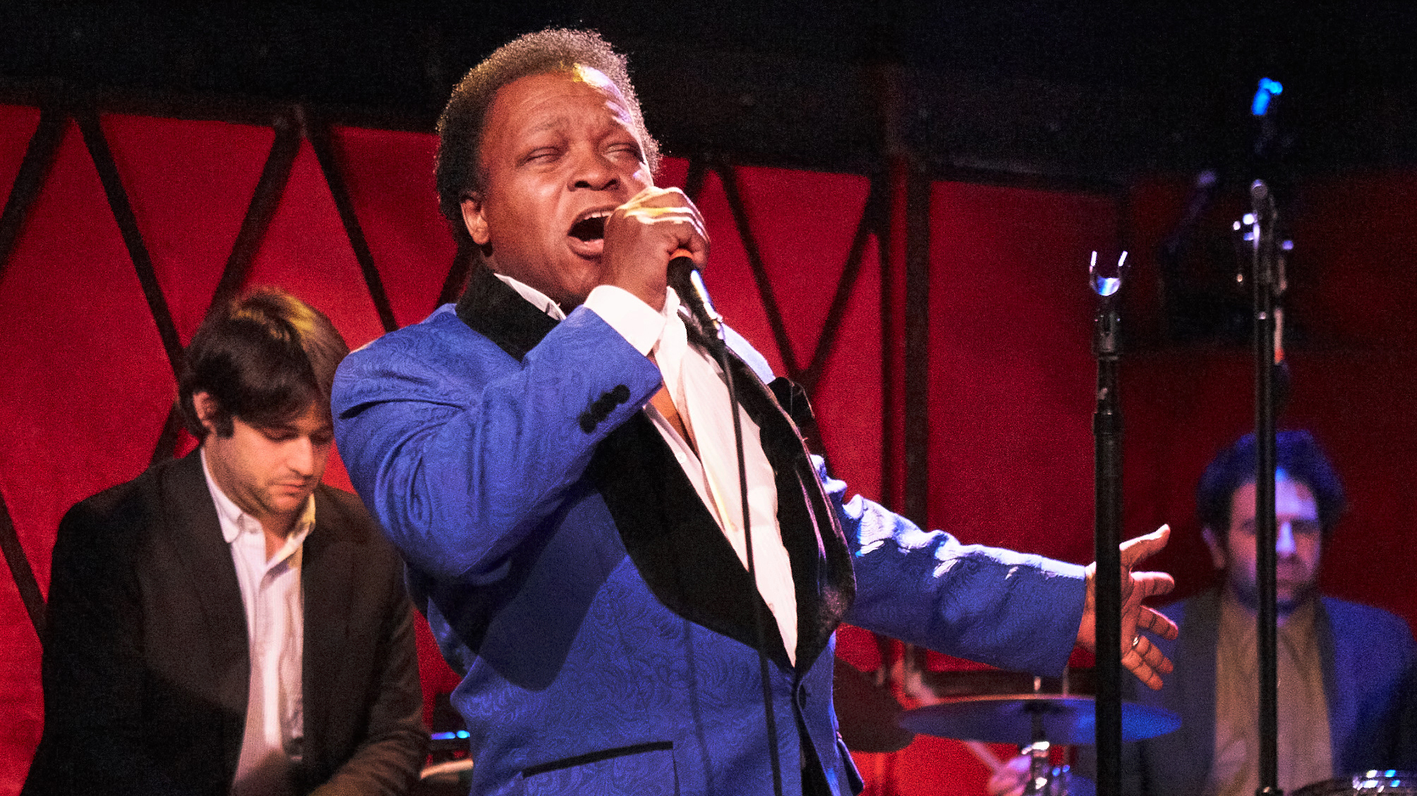 Lee Fields and The Expressions at Rockwood Music Hall (photo by Gus Philippas/WFUV)