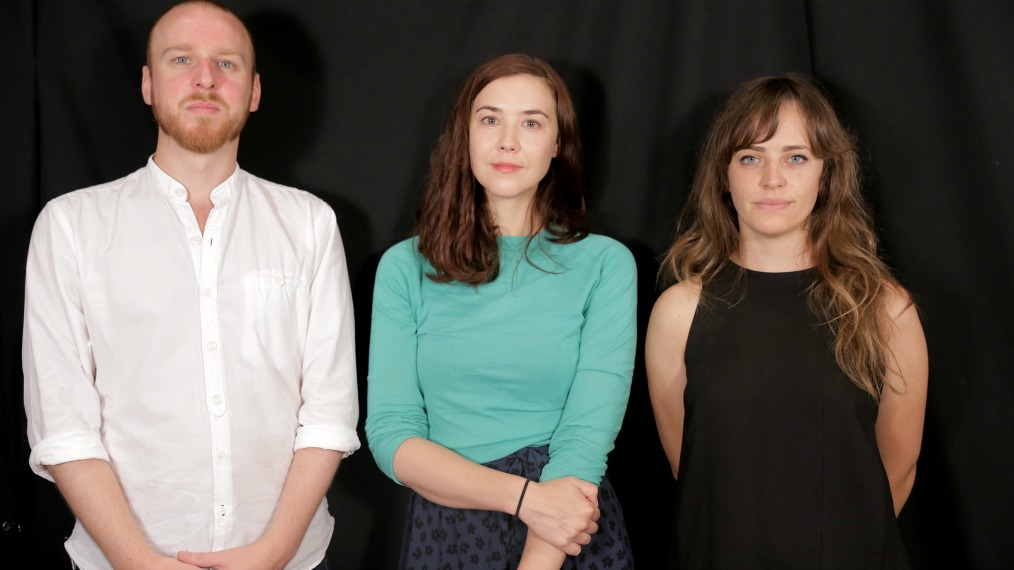 Ross Turner, Lisa Hannigan and Heather Broderick in Studio A