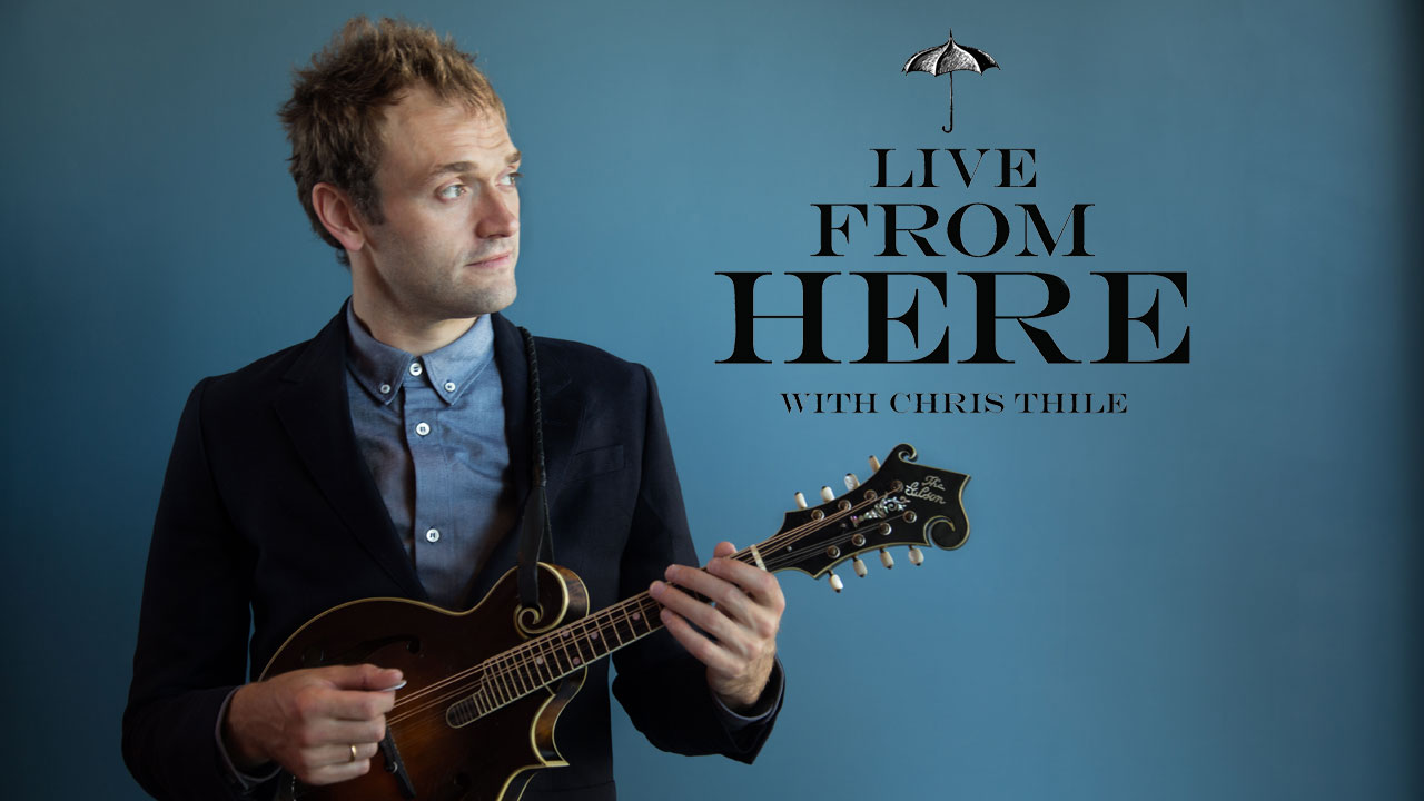 Chris Thile photo by Devin Pedde