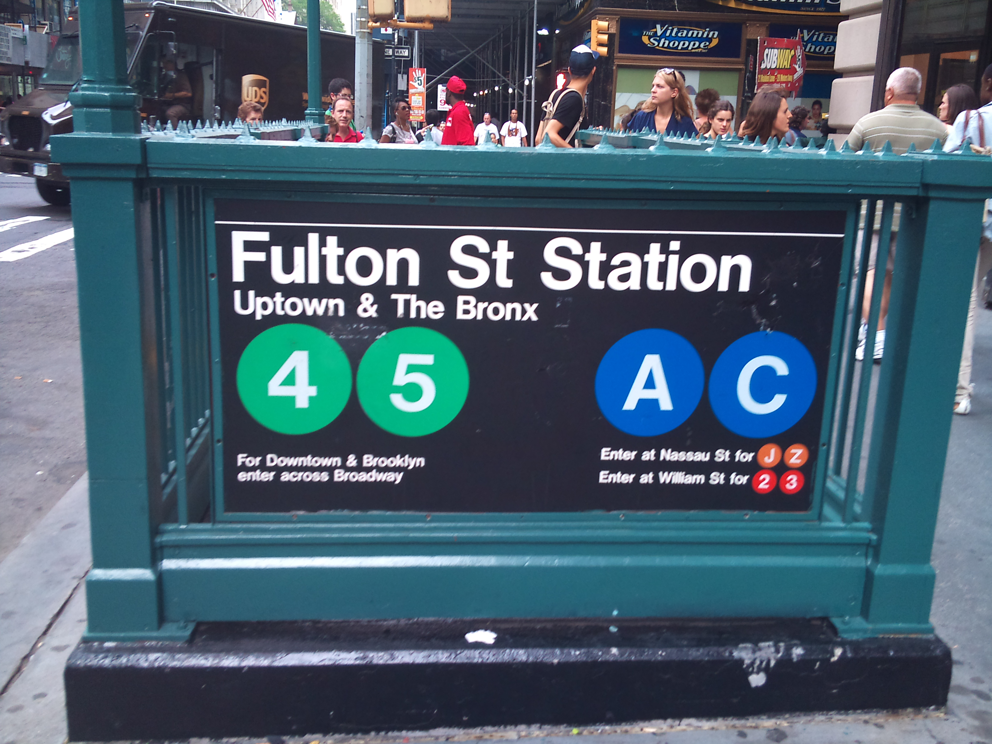 Brooklyn Street Subway Map.Nypd Objects Found At Subway Station Aren T Explosives Wfuv