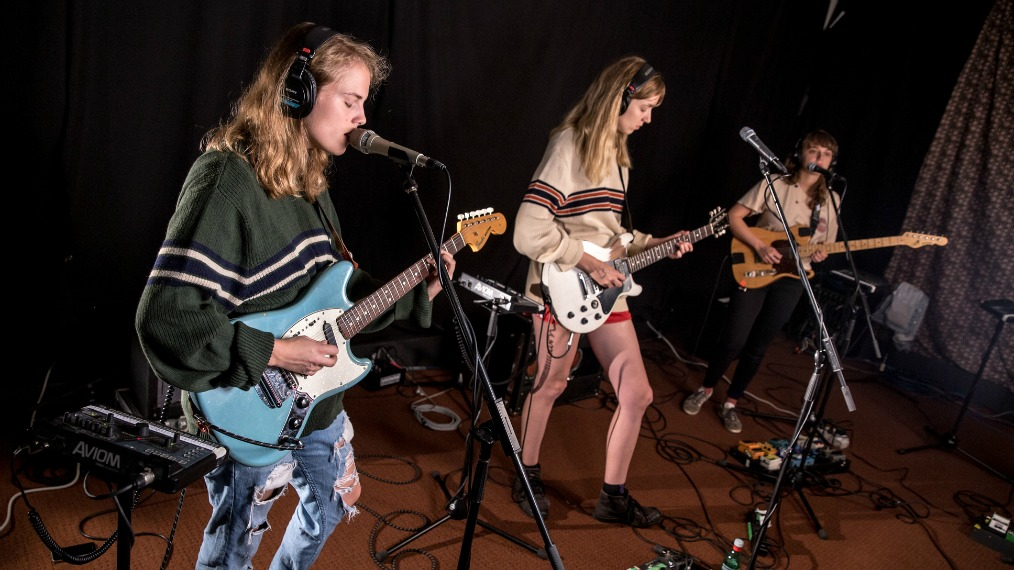 Marika Hackman in Studio A (photo by Kristen Riffert/WFUV)