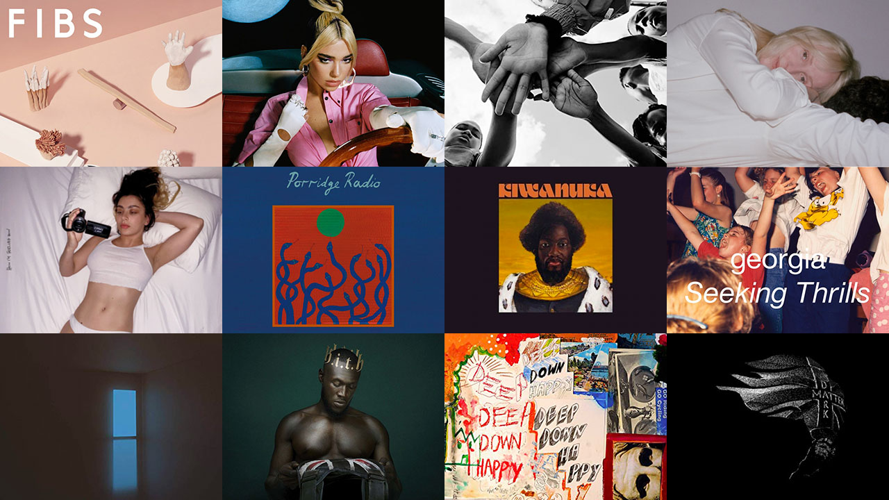 The shortlisted albums for the 2020 Mercury Prize (collage by Laura Fedele for WFUV)