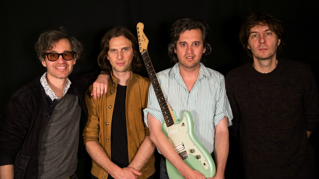 Phoenix in Studio A (photo by Brian Gallagher/WFUV)