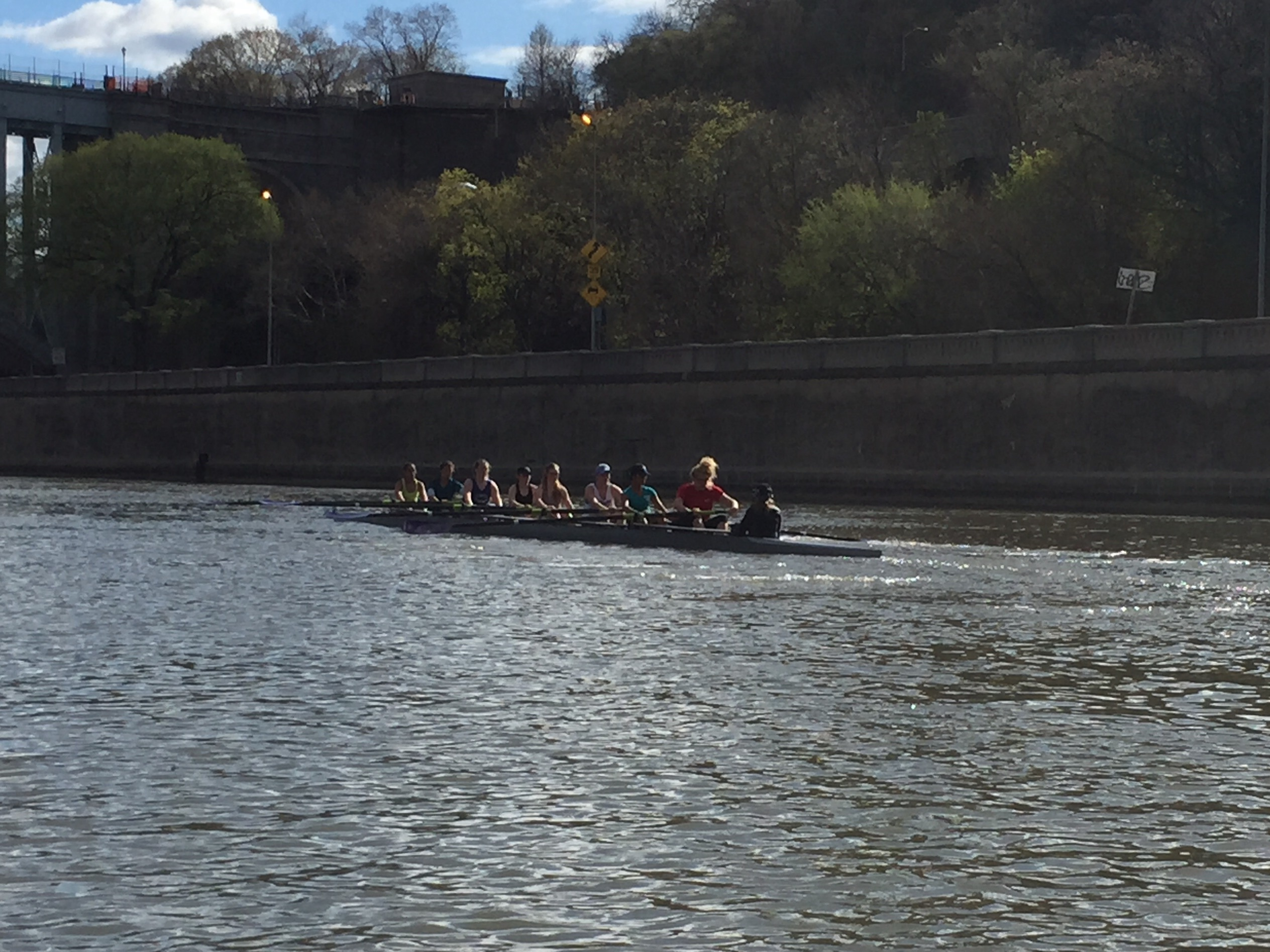 rowing on the Harlem River