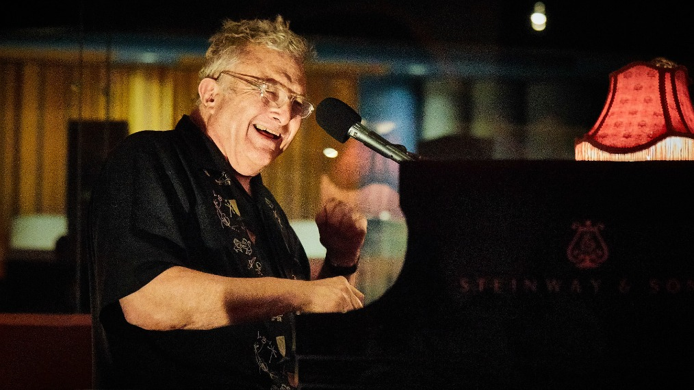 Randy Newman at Electric Lady Studios (photo by Gus Philippas/WFUV)