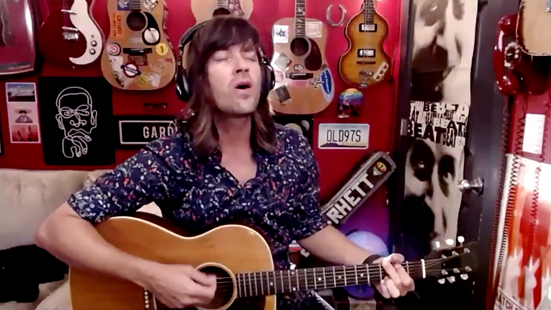 """Marquee Live at Home"" with Rhett Miller of Old 97's"