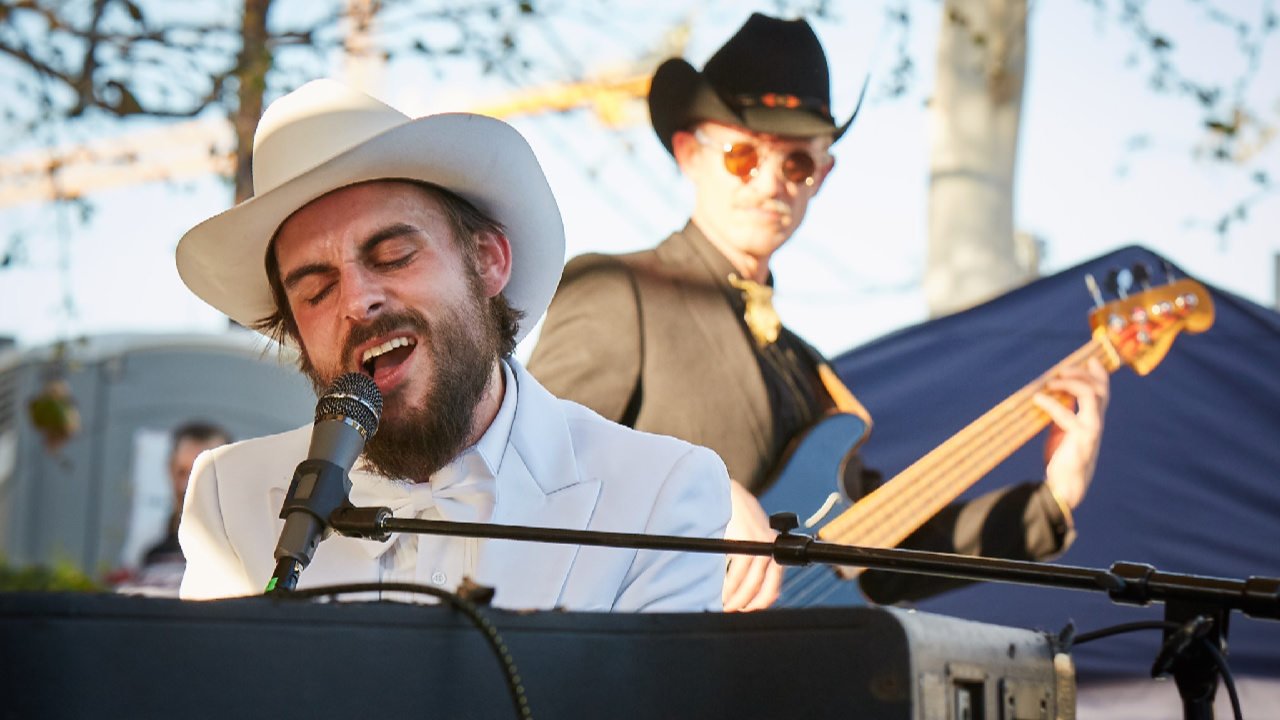 Robert Ellis at South x San José (photo by Gus Philippas/WFUV)