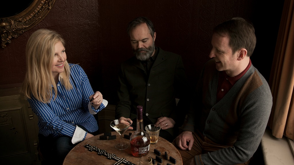 Saint Etienne's Sarah Cracknell, Pete Wiggs and Bob Stanley (photo by Paul Kelly, PR)