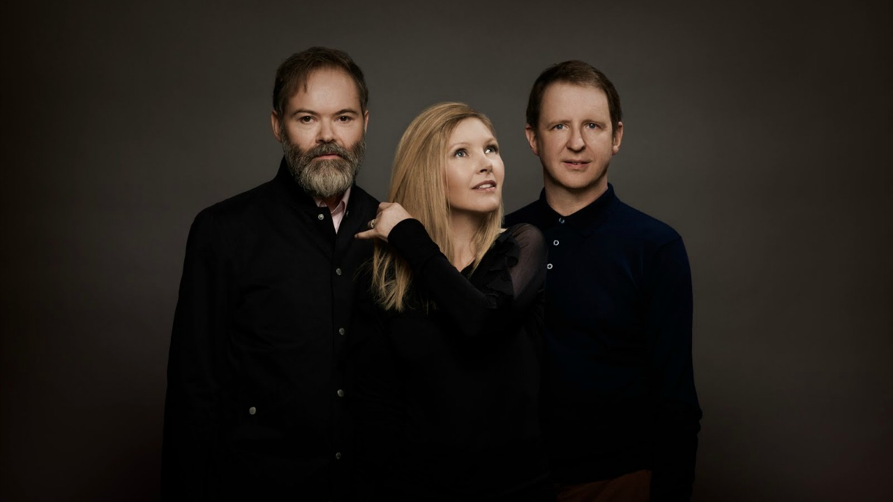 Saint Etienne's Pete Wiggs, Sarah Cracknell and Bob Stanley (photo by Rob Baker Ashton, PR)