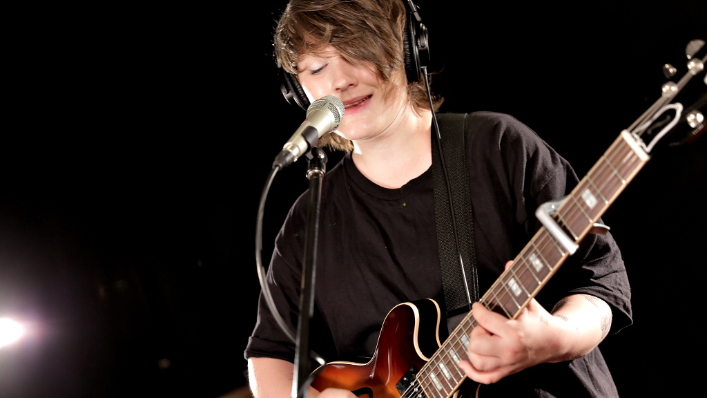 Soak at WFUV (Photo by Nick D'Agostino)