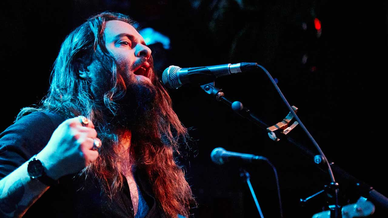 Strand of Oaks in a WFUV Performance at Rockwood Music Hall
